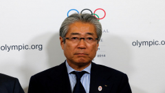 The head of Japan's Olympic Committee Tsunekazu Takeda.