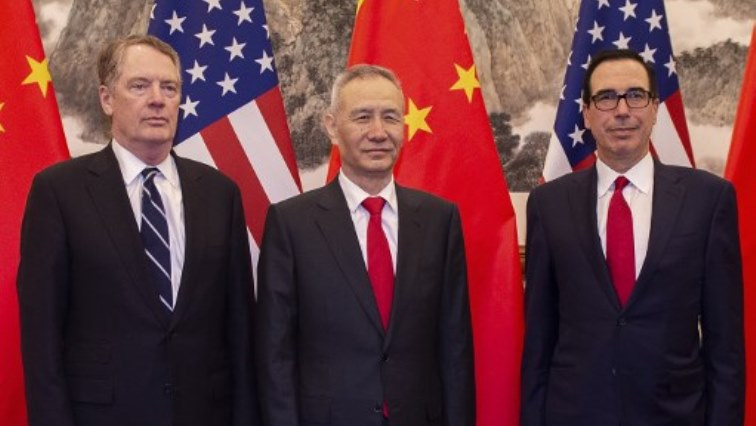 SABC News US China trade AFP - US, Chinese negotiators resume 'productive' trade talks