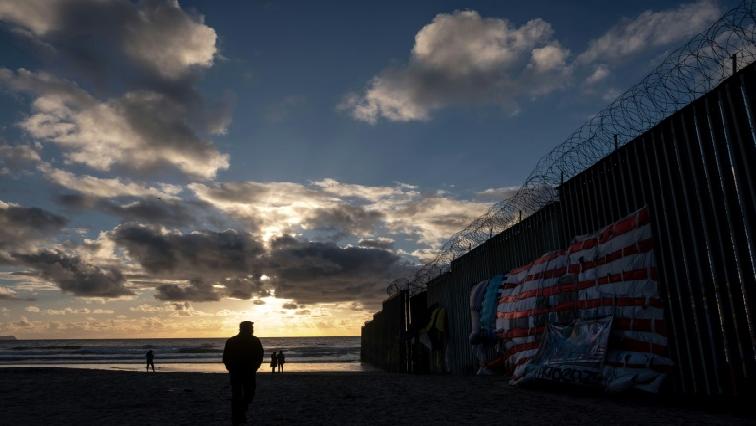 US border wall.