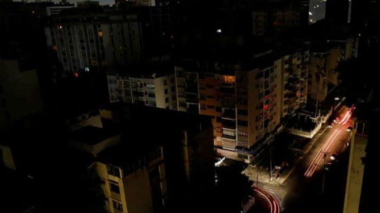Venezuela plunged into darkness