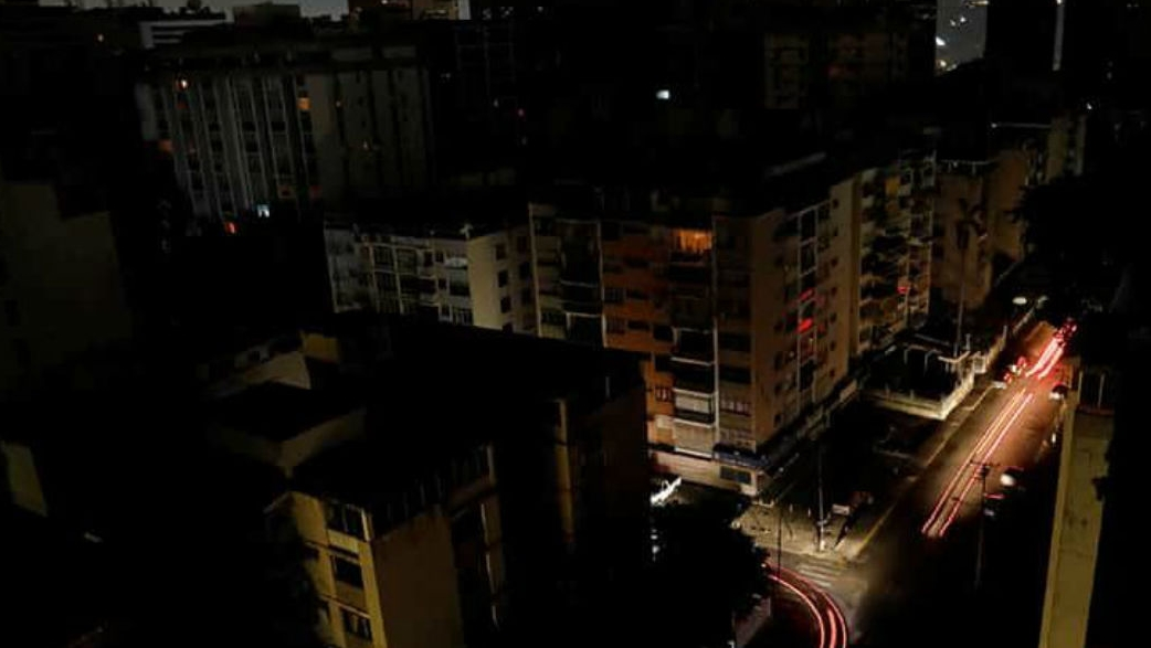 Venezuela plunged into darkness