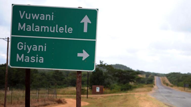 Vuwani street sign