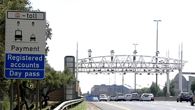 E-toll gantry