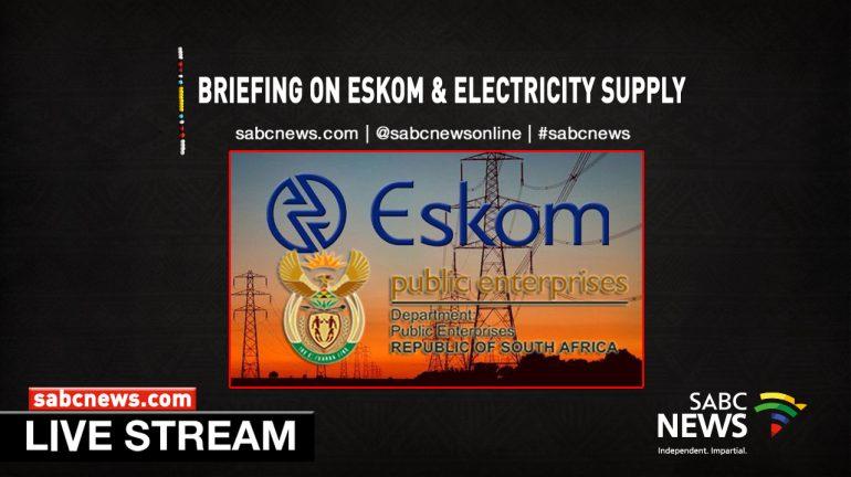 Eskom livestream image