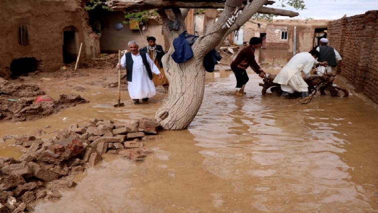 Flash floods in Afghanistan.