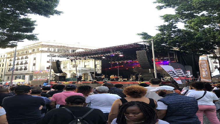 SABC News free jazz concert CT Twitter @CTJazzFest - Thousands attend 'pre' – CT Jazz festival on Wednesday night