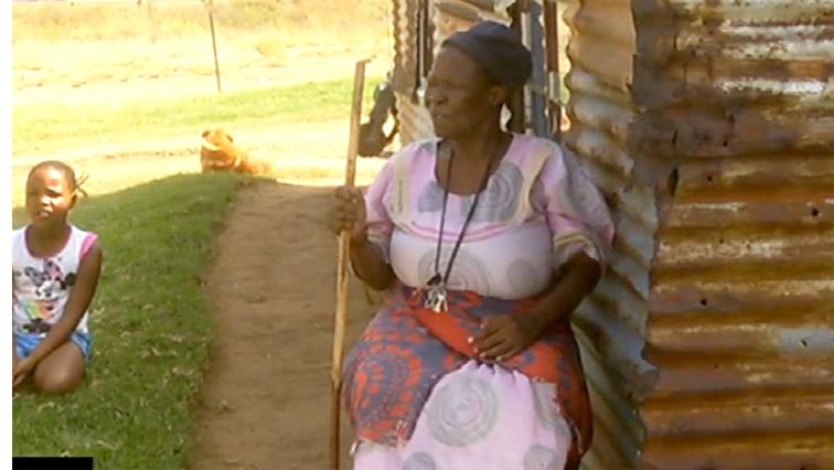SABC News granny - 72-year-old blind farm dweller yearns for a house