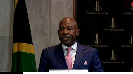 SABC News reserve bank governor Lesjta - Repo rate remains unchanged at 6.75%