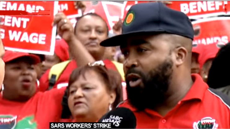 SABC News sars strike - Unions in Sars strike aim to protest until their demands are met