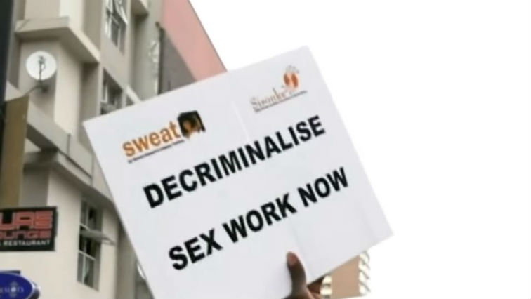 SABC News sex workers march - 'Criminalisation of sex work contributes to high levels of rape'