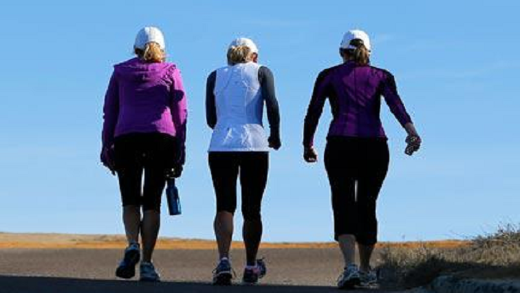 SABC News walking R - Short walk once-a-week can lower risk of death: study