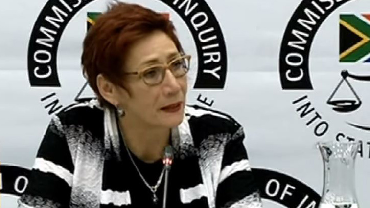 SABC News white woman being questioned - State Capture Inquiry continues on Wednesday