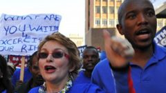 Helen Zille and Mmusi Maimane