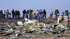 Aftermath of Plane Crash