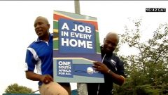 Mmusi Maimane and Solly Msimanga