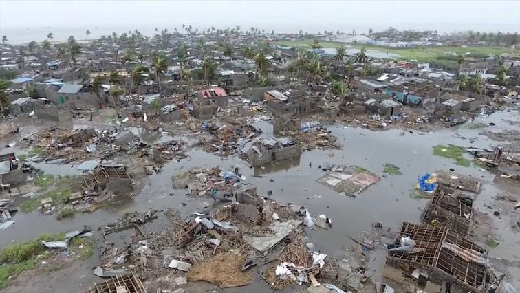 aftermath of Cyclone Idai