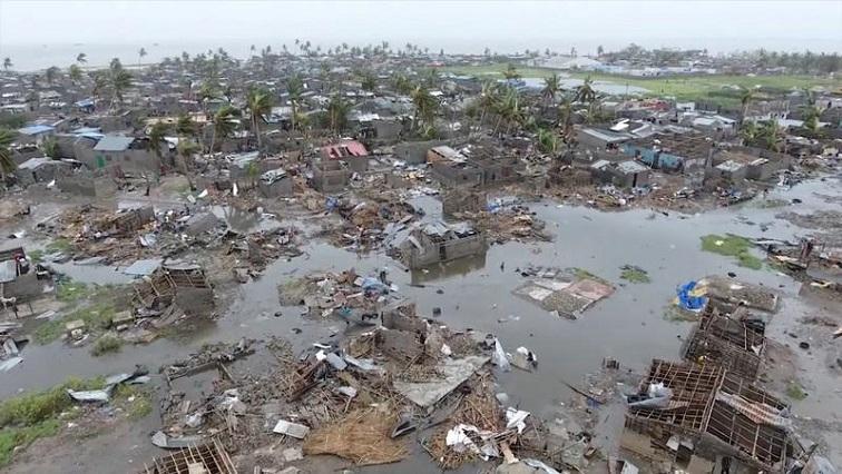aftermath of Cyclone Idai