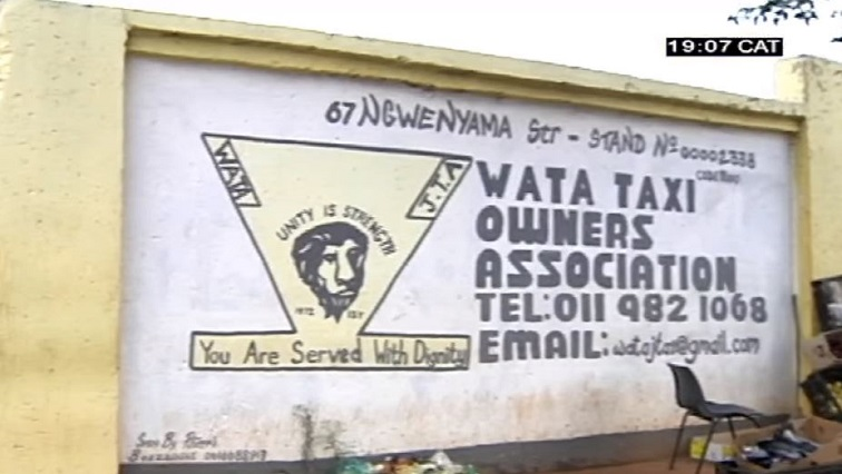 Soweto Taxi Association Poster