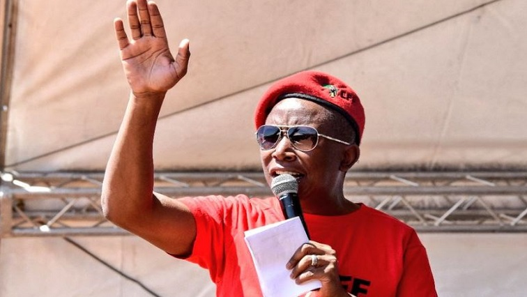 SABC  News Julius Malema.JPG Twitter@EFF SouthAfrica - Northern Cape must be a special economic zone: Malema