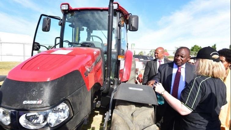 SABC  News Ramaphosa.JPG Twitter@PresidencyZA - Govt to continue working to ensure land reform: Ramaphosa