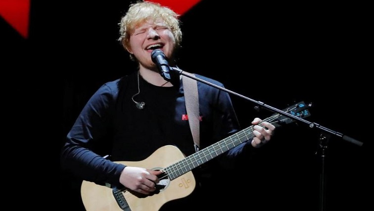 SABC News Ed Sheeran.JPG Reuters - Ed Sheeran concert underway in Joburg
