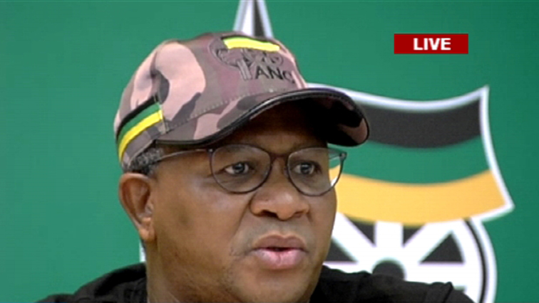 ANC Elections Chairperson Fikile Mbalula.