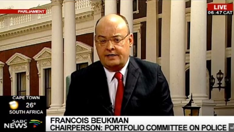 SABC News  Francois Beukman - Parly Police Committee wants SAPS members promotion issues resolved