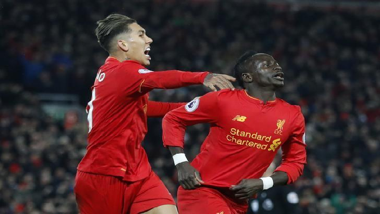 SABC News  Roberto Firmino and Sadio Mane  Reuters - Firmino and Sadio braces against Watford keeps Liverpool in touch with City