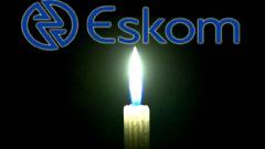 Eskom and candle