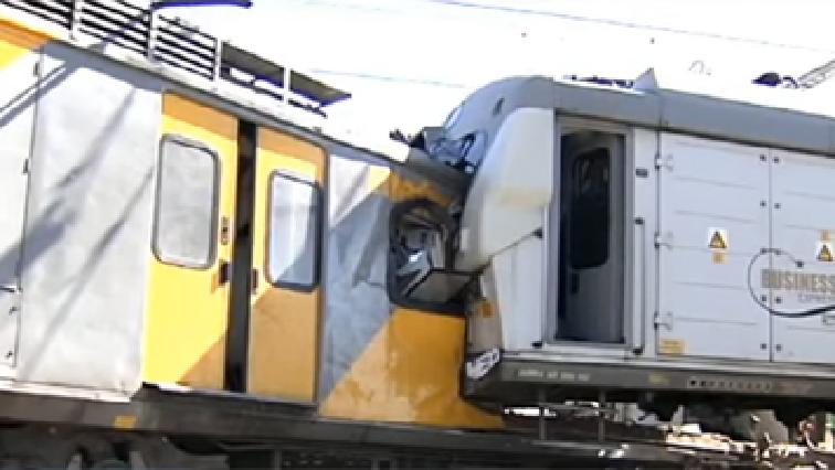 Train accident.