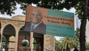 justice 291x169 - Anglican Church supports 'Justice4Vernie' Movement