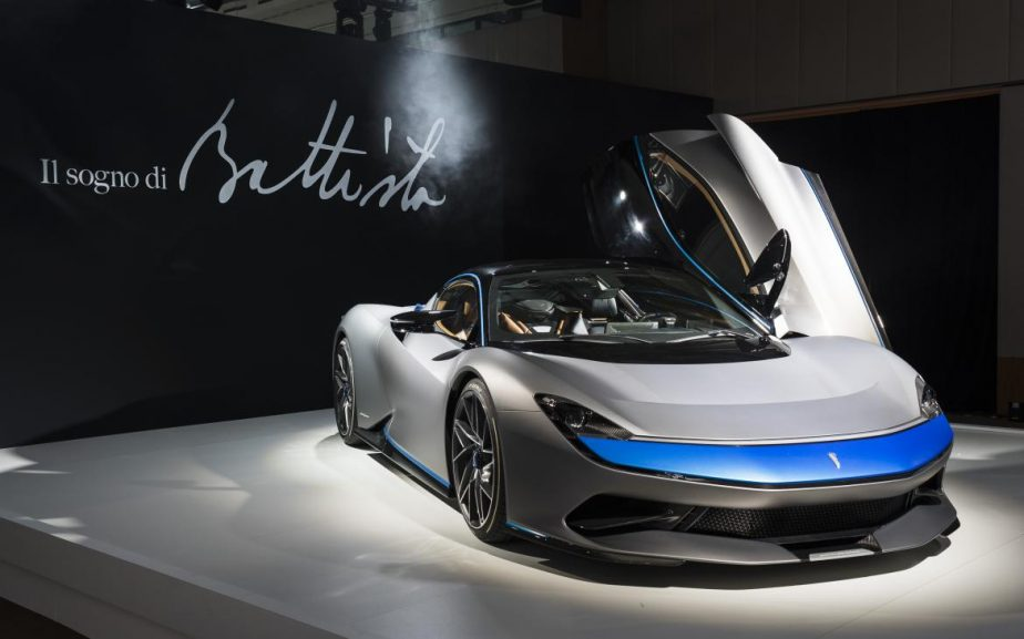 pininfarina battista 0 924x577 - The World's First Pure Electric Luxury Hypercar
