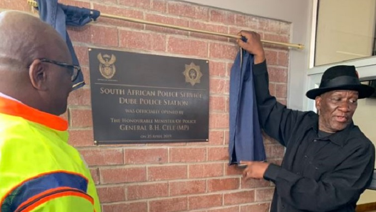 Cele.JPG Twitter@GautengGov - Cele commits to a renewed fight against crime