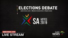 Election Deabte livestream logo