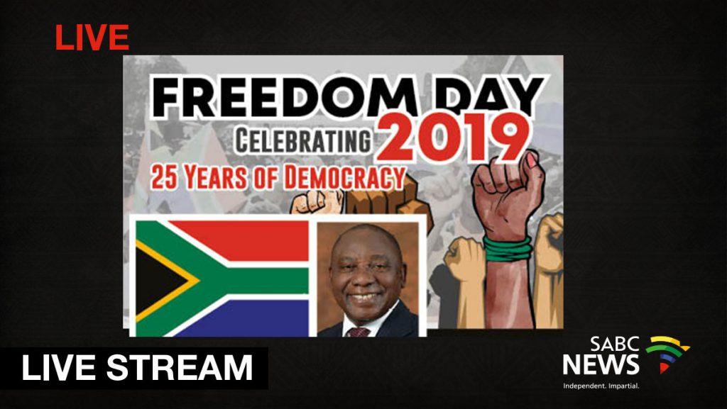Freedom Day Stream 1024x577 - WATCH: Freedom Day celebrations