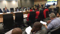 City of Joburg council meeting