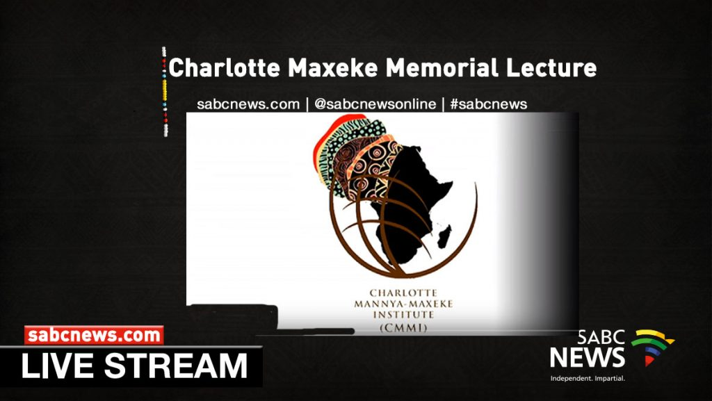 Maxeke lecture Streaming 1024x577 - Watch: The Charlotte Maxeke Memorial Lecture