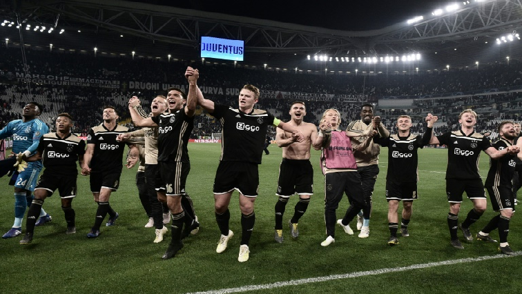 SABC News Ajax AFP - Ajax stun Juventus to reach Champions League semis