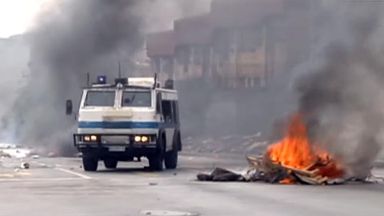 SABC News Alex Protest 1 - All spheres of govt must account to Alex residents: SAHRC
