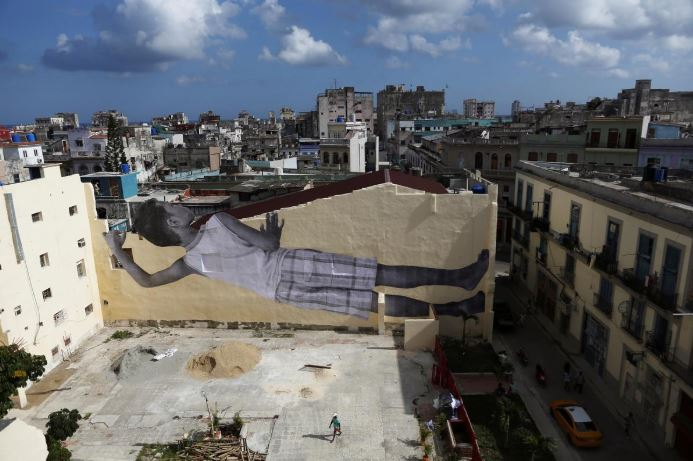 SABC News Artist JR R - Art frenzy takes over Havana as biennial kicks off