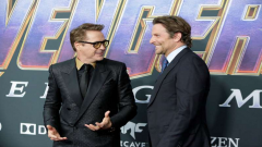 Robert Downing Jr. and Bradley Cooper