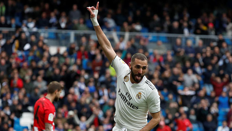 SABC News BenzemaReuters0 - Zidane hails hat-trick hero Benzema as world's best nine