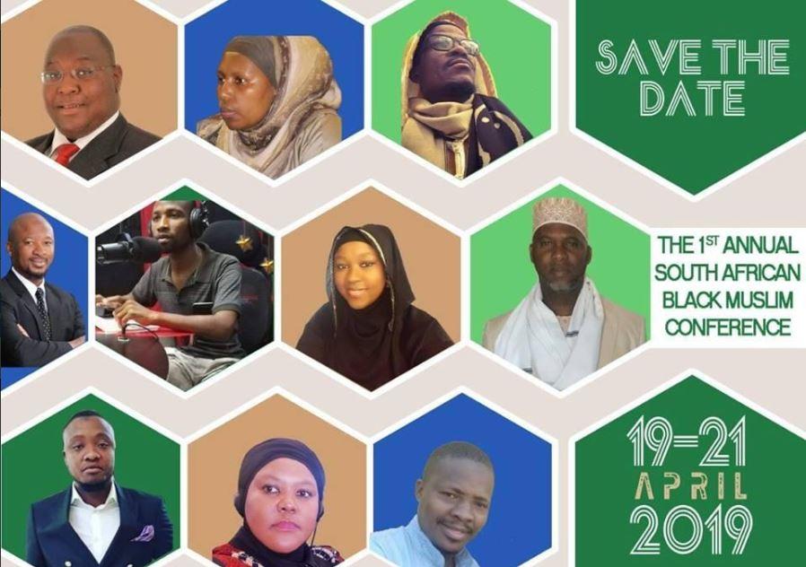 Black Muslim Conference poster.