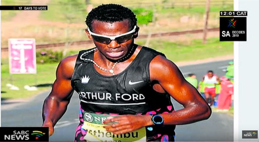 Bongmusa Mthembu who has won the Comrades Marathon three times secured his first Two Oceans Marathon on Sunday.