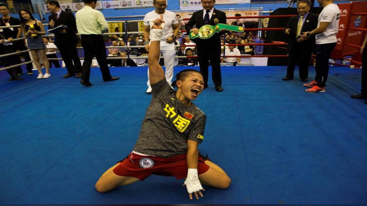 SABC News Boxer REUTERS - Chinese boxer trounces stereotypes, depression to become 'Queen of the Ring'