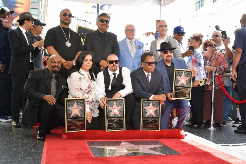 SABC News C Hill AFP 866x577 - Latin hip-hop group Cypress Hill unveil 'Walk of Fame' star