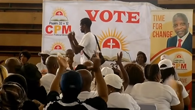 SABC News CPM - Christian-based parties vying for political space
