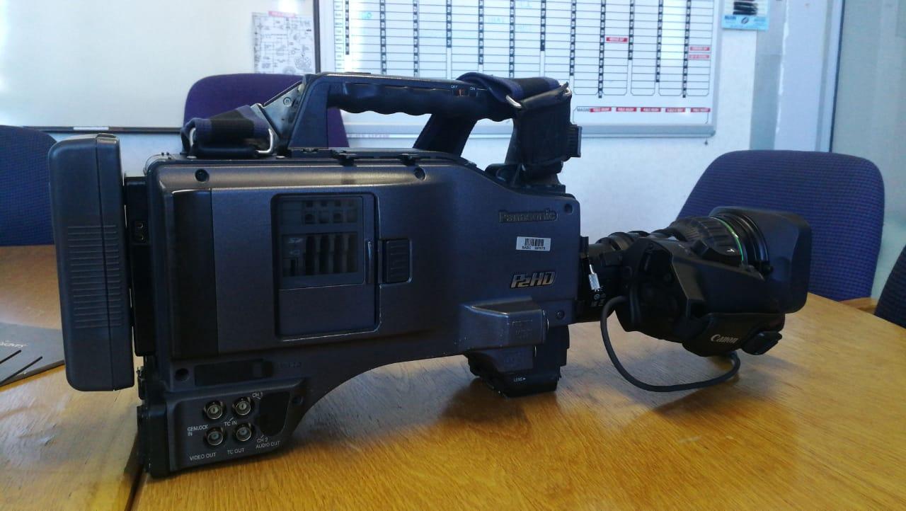 SABC News Camera - SABC, Sanef condemn attack on journalists
