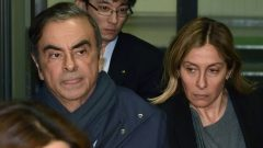 Carlos and Carole Ghosn.