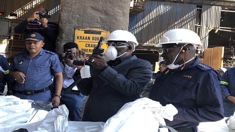SABC News Cele Firearms Twitter @SAgovnews - Cele to ensure seized firearms are destroyed regularly